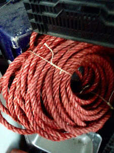 Landscapers wire core nylon rope $175.00