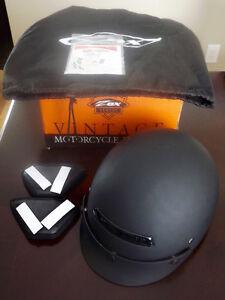Zox Alto Flat Black Helmet, M, excellent condition