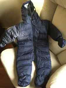 New 6months/16 lbs Love 'n cuddles hooded infant snowsuit