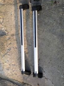 Ford roof bars for 2010 Fiesta