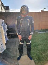 2 peice Motorbike leathers