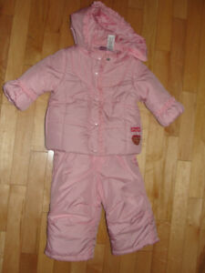 Girl's Disney Princess Snowsuit