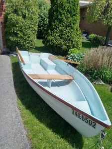 Row Boat 12 ft Fiberglass