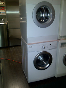 Stackable Washer. Stackable Dryer Combo