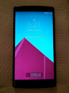 LG G4 for Bell and Virgin Mobile - 32Gb in Black