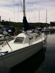 1985 27' Pearson Trident for sale.