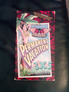 VINTAGE VHS AEROSMITH PERMANENT VACATION