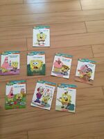 SPONGE BOB SQUARE PANTS LEARN TO READ BOOKS-$4 TAKES ALL