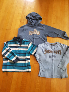 3 tops from Timmy Hilfiger, Gymboree  and Mexx size 5
