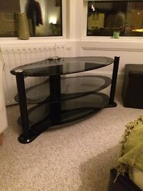 Large Glass TV unit stand for sale just need rid £15