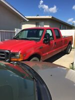 2000 Ford F-350 Crew Cab Long Box Pickup Truck