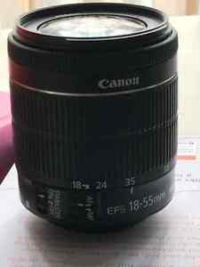 Canon EF-S 18-55mm f/3.5-5.6 IS STM Lens London Ontario image 1