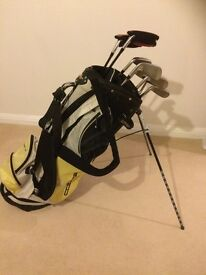 Adams a3 iron set with bag, bits and putter
