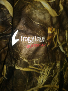 Frogg toggs large womens jacket