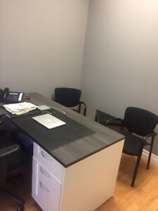 Window Office for rent in Law Chambers