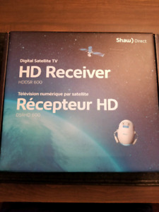 Shaw direct HD receiver not pvr