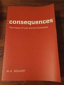 Consequences The Impact of Law and Its Complexity Cambridge Kitchener Area image 1