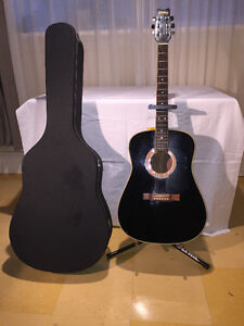 Washburn Black D-12B