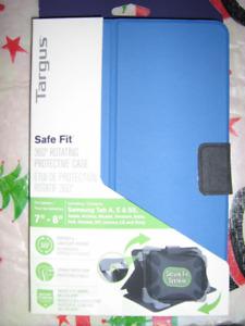 Etui de protection rotatif 360 neuf pour tablette 7a8 po (neuf)