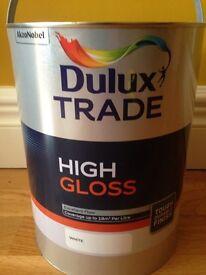 Dulux White High Gloss (Brand New Unopened)