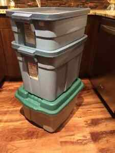 Rubbermaid Containers - All Three (3) for $25