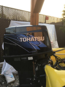 50 Hp Tohatsu TDI - 2 stroke direct injection Outboard 2006