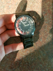 Kenneth Cole see through face watch Offers accepted