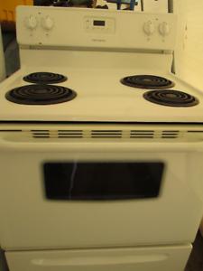 working white stove