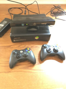Xbox 360 with Kinect & games over 10.