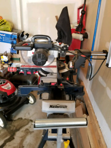 Mitre Saw and Saw Table