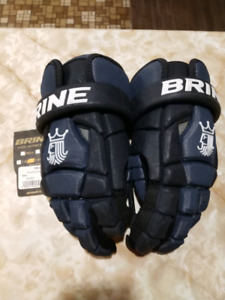 Brine Lacrosse gloves Brand New!!