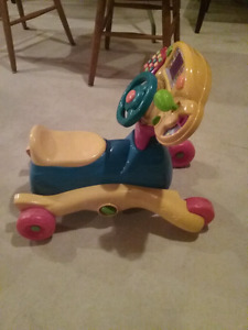 "Vtech ""grow and go ride on"""