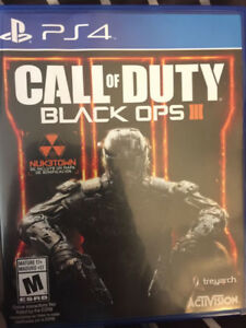 Call of duty black OPS 3 new