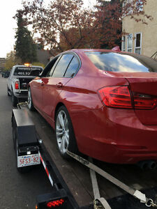 Calgary and area Towing & Vehicle Accident Recovery Services