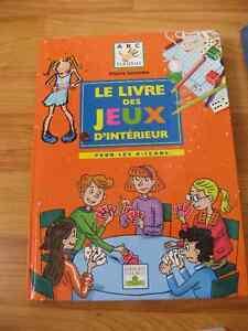 Le livre des jeux d'intérieur pour les 6-12 ans Éditions Fleurus