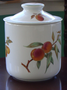 NEW PRICE / NEW ROYAL WORCESTER Canister