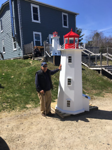 Peggy's Cove Lighthouse Replica 8 foot 9 inches