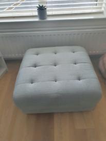 Sofa, armchair, pouffe