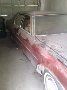 1972 Ford LTD 4 Door car.