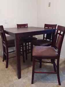 """""""Bar"""" Table and chairs"""