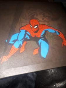 Spider man canvas wall art 3 piece