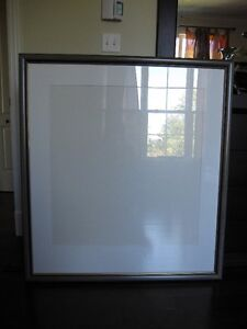 Wooden Picture Frame with Glass and White Mat St. John's Newfoundland image 1