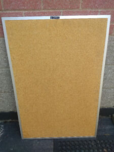 """$25 for 36"""" high and 24"""" wide cork board"""