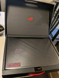 Asus Rog gl503g with accesorries