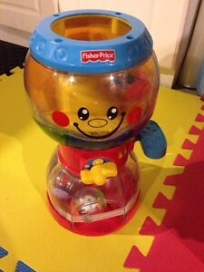 Gum ball fisher price musical ball toy