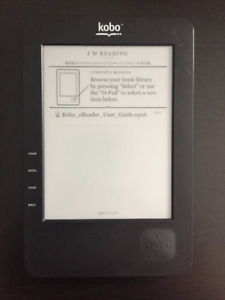 Kobo E-Reader for Sale with Case and Charger