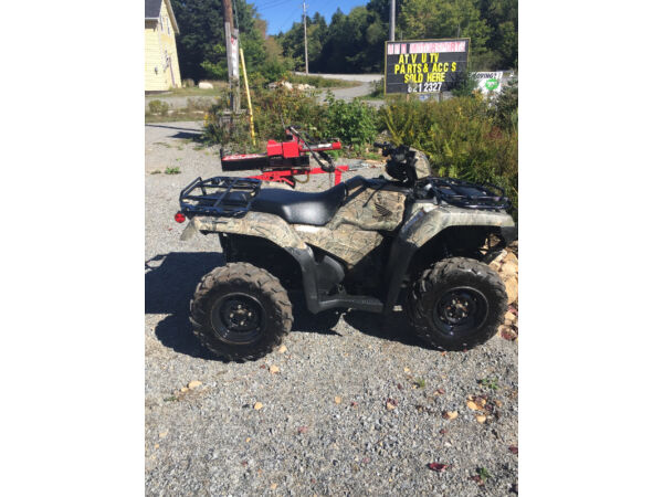 Used 2016 Honda FORMAN RUBICON