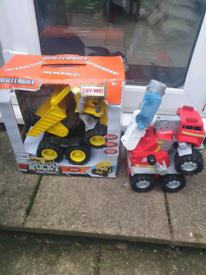 Matchbox rocky and smokey interactive toys