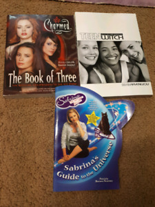 Charmed, teen witch and Sabrina The Teenage Witch books
