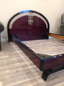 Queen Mattress, box springs and bed frame